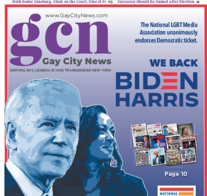 Newspapers jointly back Biden/Harris ticket