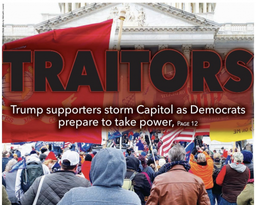 Washington publications shift focus to Capitol insurrection